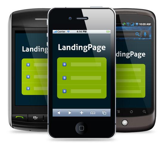Создание Landing Page, парковочной страницы